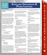 English Grammar And Punctuation (Speedy Study Guides), Speedy Publishing