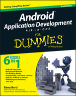 Android Application Development All-in-One For Dummies, Barry Burd
