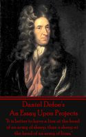 An Essay Upon Projects, Daniel Defoe