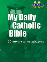 My Daily Catholic Bible, NABRE, Edited by Paul Thigpen