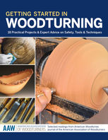 Getting Started in Woodturning, John Kelsey