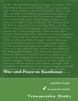 War and Peace in Kurdistan – International Initiative Edition, Abdullah Öcalan
