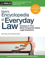 Nolo's Encyclopedia of Everyday Law, Nolo Editors, Shae Irving