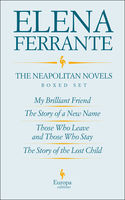 The Neapolitan Novels by Elena Ferrante Boxed Set, Elena Ferrante
