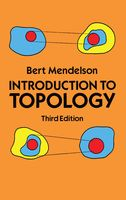 Introduction to Topology, Bert Mendelson