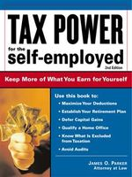 Tax Power for the Self-Employed, James Parker