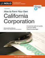 How to Form Your Own California Corporation, Anthony Mancuso