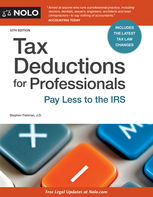 Tax Deductions for Professionals, Stephen Fishman