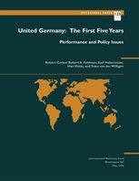United Germany: The First Five Years: Performance and Policy Issues, Karl Habermeier