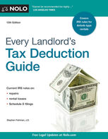 Every Landlord's Tax Deduction Guide, Stephen Fishman