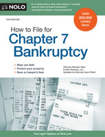 How to File for Chapter 7 Bankruptcy, Albin Renauer, Stephen Elias