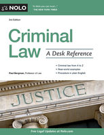Criminal Law, Paul Bergman