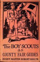 The Boy Scouts as County Fair Guides, Robert Shaler
