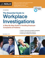Essential Guide to Workplace Investigations, The, Lisa Guerin