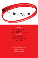 Think Again, Jo Whitehead, Sydney Finkelstein