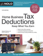 Home Business Tax Deductions, Stephen Fishman