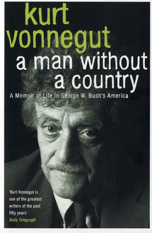 a man without a country kurt vonnegut - Color Of Water Book