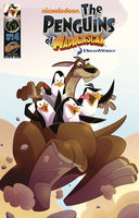 Penguins of Madagascar Vol.1 Issue 4, Dale Server, Jackson Lanzing