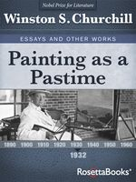 Painting as a Pastime, Winston Churchill