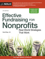 Effective Fundraising for Nonprofits, Ilona Bray
