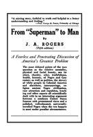 """From """"Superman"""" to Man, J.A.Rogers"""