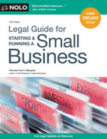 Legal Guide for Starting & Running a Small Business, Fred S.Steingold
