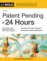 Patent Pending in 24 Hours, Richard Stim