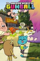 The Amazing World of Gumball #6, Frank Gibson