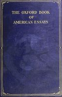 The Oxford Book of American Essays, Benjamin Franklin, Washington Irving