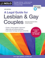Legal Guide for Lesbian & Gay Couples, A, Emily Doskow, Frederick Hertz