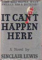 It Can't Happen Here, Sinclair Lewis