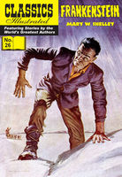 Frankenstein   – Classics Illustrated, Mary Shelley