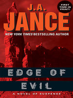 Edge of Evil, J.A.Jance