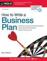 How to Write a Business Plan, Mike McKeever
