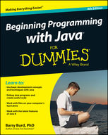 Beginning Programming with Java For Dummies, Barry Burd