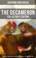 THE DECAMERON: Collector's Edition – 3 Different Translations by John Payne, John Florio & J.M. Rigg in One Volume, Giovanni Boccaccio