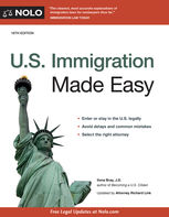 U.S. Immigration Made Easy, Ilona Bray