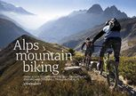 Alps Mountain Biking, Steve Mallett