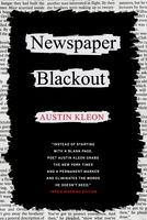 Newspaper Blackout, Austin Kleon